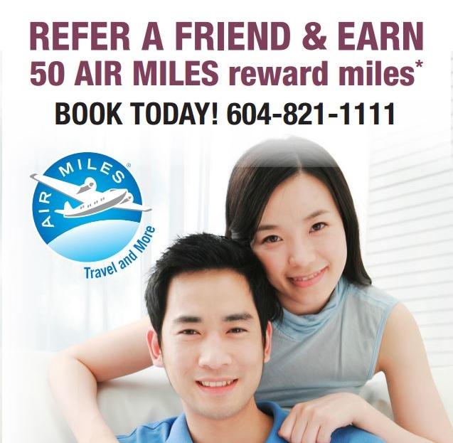 refer a friend earn air miles