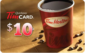 Richmond Dentist - Affinity - Maxim Bakery promotion tim hortons gift card