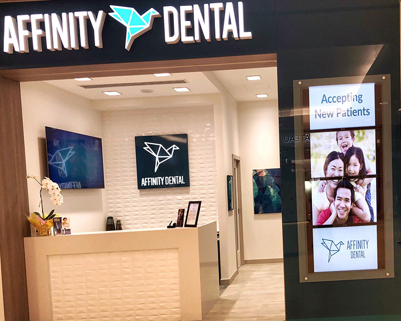 Affinity Dental Reception