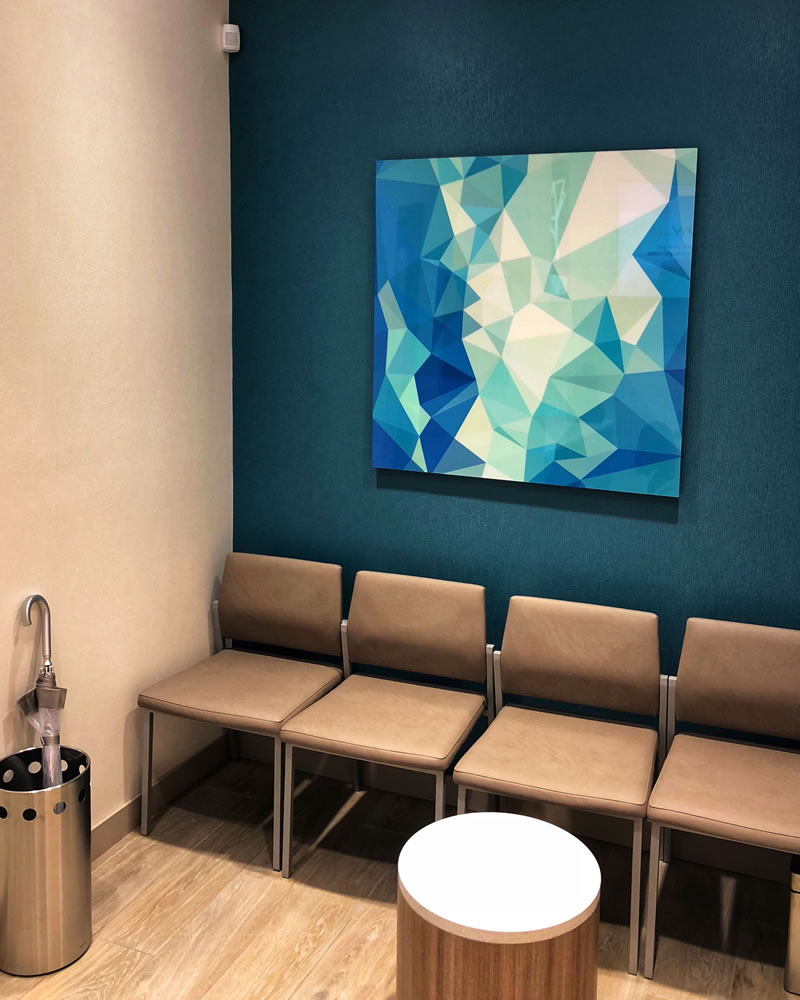 Waiting Room at Affinity Dental Clinic in Richmond